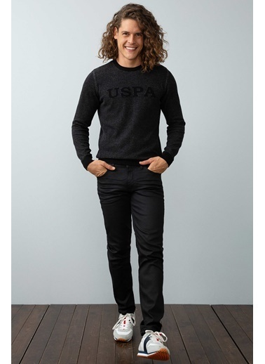 U.S. Polo Assn. Jean Pantolon Siyah